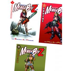 Pack Manga BoyZ