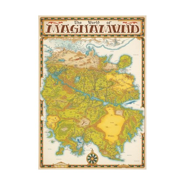 LONE WOLF - Loup Solitaire D20 La-carte-du-magnamund-world-of-magnamund-map