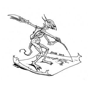 The Trolltooth Wars - Imp Scribe