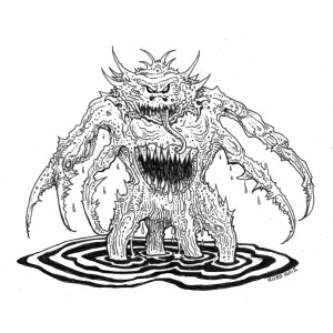 The Trolltooth Wars -Water Demon