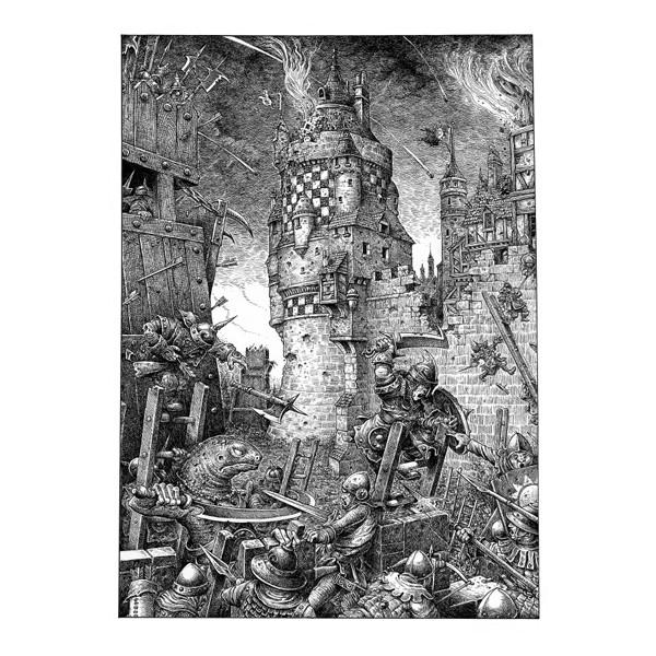 Gary Chalk Loup-solitaire-le-livre-de-regles