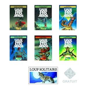 Pack Loup Solitaire Nouvelle édition 2