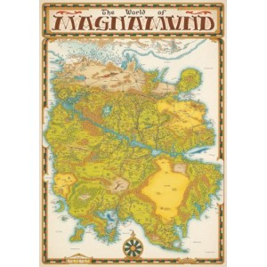 World of Magnamund Map - La Carte du Magnamund