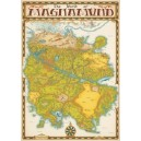 LOT - World of Magnamund Map + Gamemaster Screen