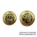 Pièce d'or Couronne - Metal Crowns
