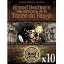 BESTIAIRE DES ENVIRONS DE LA TERRE DE FANGH (OFFRE LIBRAIRES)