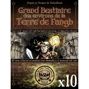 OFFRE LIBRAIRES 10 ex - BESTIAIRE DES ENVIRONS DE LA TERRE DE FANGH