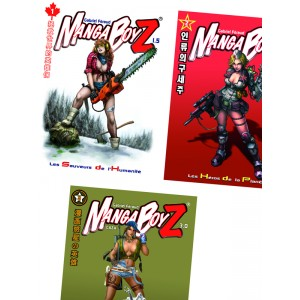 Pack Manga BoyZ - OFFRE ÉCO INFINITE RPG